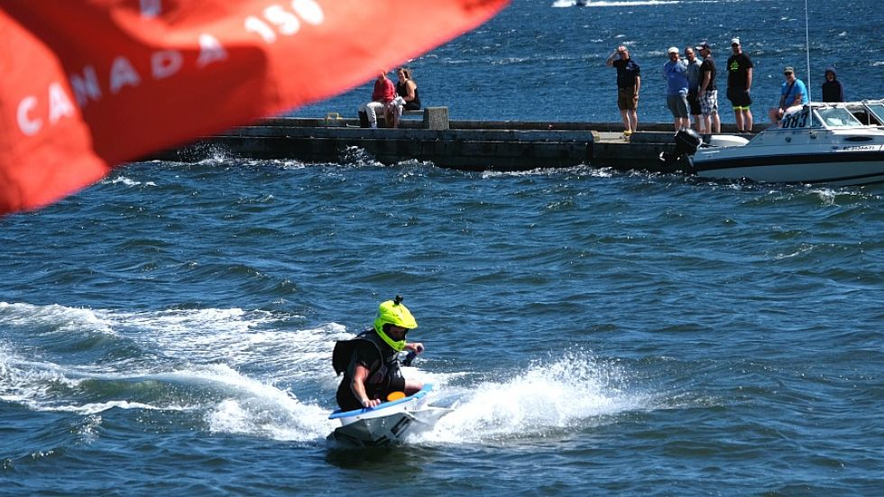 Tom Harris-sponsored tubber wins 51st Nanaimo bathtub race