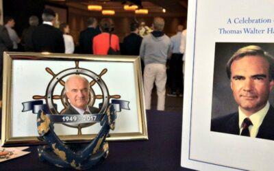 A Nanaimo icon: Friends, family celebrate the life of Tom Harris