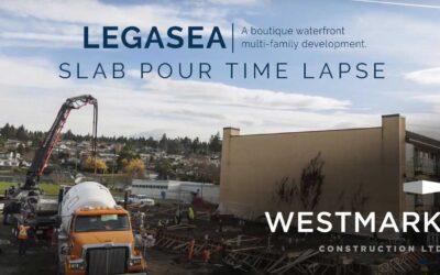 LEGASEA Foundation Pour Time-lapse