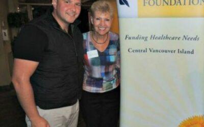 Tony Harris follows father's footsteps to boost Nanaimo area healthcare