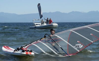 Tony Escorts The Gyro Georgia Strait Charity Challenge